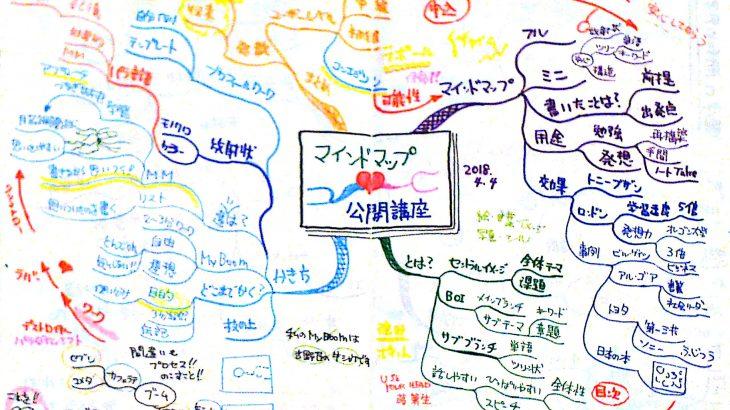5月よりマインドマップ動画講座開講!